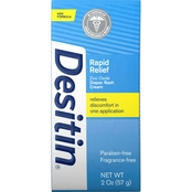 Desitin Rapid Relief Diaper Rash Remedy Cream