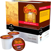 Kahlua Coffee Original Non alcoholic Light Roast Keurig K-Cup 18 pk.