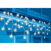 Everstar Warm White LED Icicle 70 Pk.
