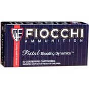 Fiocchi 9mm 158 Gr. FMJ Subsonic, 50 Rounds
