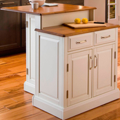 Home Styles Woodbridge Two Tier Island