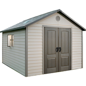 Lifetime 11 ft. x 13.5 ft. Outdoor Garden Storage Shed