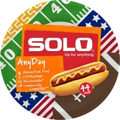 Solo 8.5 in. Any Day Paper Plate 44 ct.