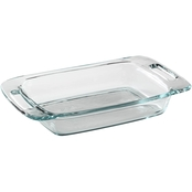 Pyrex Easy Grab 2 Qt. Oblong Glass Baking Dish