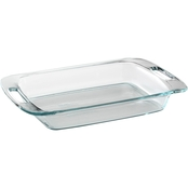 Pyrex Easy Grab 3 Qt. Oblong Glass Baking Dish