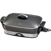 Presto Electric Skillet with Glass Cover and Removable Base 16 In.
