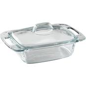 Pyrex Easy Grab 2 Qt. Casserole with Lid