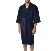 Majestic International Terry Velour Shawl Robe