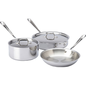 All-Clad Stainless Steel 5 pc. Starter Set