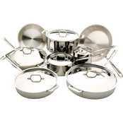 All-Clad Stainless Steel 14 pc. Cookware Set