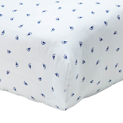 NoJo Nautica William Crib Sheet