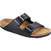 Birkenstock Men's Arizona Black Suede Sandals
