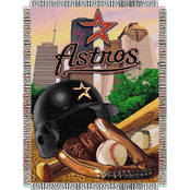 Northwest MLB Houston Astros Home Field Advantage Tapestry Throw