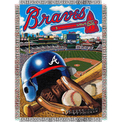 Northwest MLB Atlanta Braves Home Field Advantage Tapestry Throw
