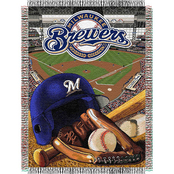 Northwest MLB Milwaukee Brewers Home Field Advantage Tapestry Throw