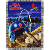Northwest MLB St. Louis Cardinals Home Field Advantage Tapestry Throw