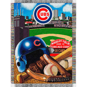 Northwest MLB Chicago Cubs Home Field Advantage Tapestry Throw
