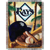 Northwest MLB Tampa Bay Rays Home Field Advantage Tapestry Throw