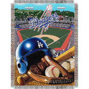 Northwest MLB Los Angeles Dodgers Home Field Advantage Tapestry Throw