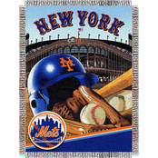 Northwest MLB New York Mets Home Field Advantage Tapestry Throw