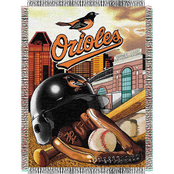 Northwest MLB Baltimore Orioles Home Field Advantage Tapestry Throw