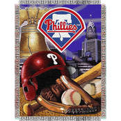 Northwest MLB Philadelphia Phillies Home Field Advantage Tapestry Throw