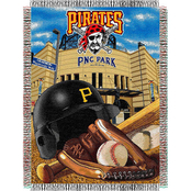 Northwest MLB Pittsburgh Pirates Home Field Advantage Tapestry Throw