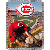 Northwest MLB Cincinnati Reds Home Field Advantage Tapestry Throw