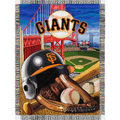 Northwest MLB San Francisco Giants Home Field Advantage Tapestry Throw