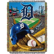 Northwest MLB Detroit Tigers Home Field Advantage Tapestry Throw