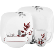 Corelle Kyoto Leaves 16 pc. Dinnerware Set
