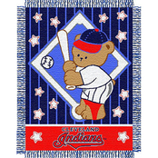 Northwest MLB Cleveland Indians Triple Woven Jacquard Baby Throw