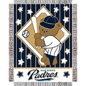 Northwest MLB San Diego Padres Triple Woven Jacquard Baby Throw