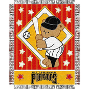 Northwest MLB Pittsburgh Pirates Triple Woven Jacquard Baby Throw