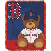 Northwest MLB Boston Red Sox Triple Woven Jacquard Baby Throw