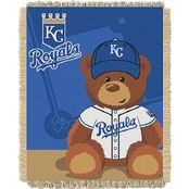 Northwest MLB Kansas City Royals Triple Woven Jacquard Baby Throw