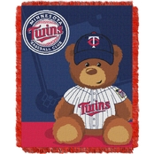 Northwest MLB Minnesota Twins Triple Woven Jacquard Baby Throw