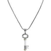 Effy Sterling Silver 18K Pendant with Chain