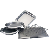 Meyer Advanced Collection 5 pc. Bakeware with Silicone Grips
