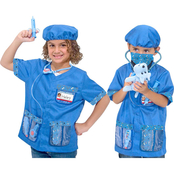 Melissa and Doug Veterinarian Role Play Costume Set