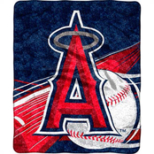 Northwest MLB Los Angeles Angels Sherpa Throw