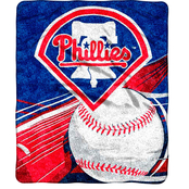 Northwest MLB Philadelphia Phillies Sherpa Throw