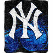 Northwest MLB New York Yankees Sherpa Throw