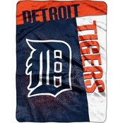 Northwest MLB Detroit Tigers Tie Dye Super Plush Throw