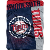 Northwest MLB Minnesota Twins Tie Dye Super Plush Throw