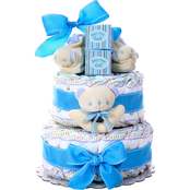 Alder Creek 2 Tier Diaper Cake