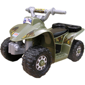Fisher Price Military Lil Quad Ride On Vehicle