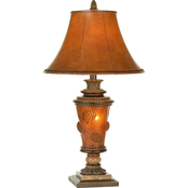 Pacific Coast Lighting Pinecone Glow Table Lamp