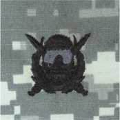 Ira Green Army Badge Special Operations Diver