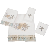Avanti By The Sea White 4 pc. Towel Set